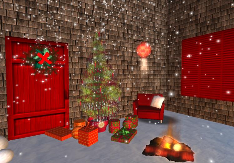 Christmas Decorations Second Life Shareta