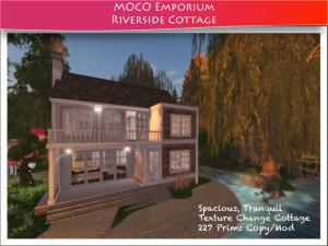 Texture Change Prefab Cottage ~ Second Life