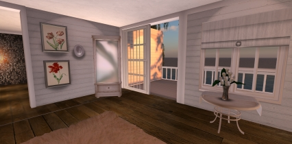 Riverside Cottage Bedroom Mirror & Prints