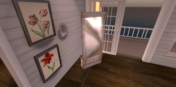 Riverside Cottage Bedroom Mirror & Prints