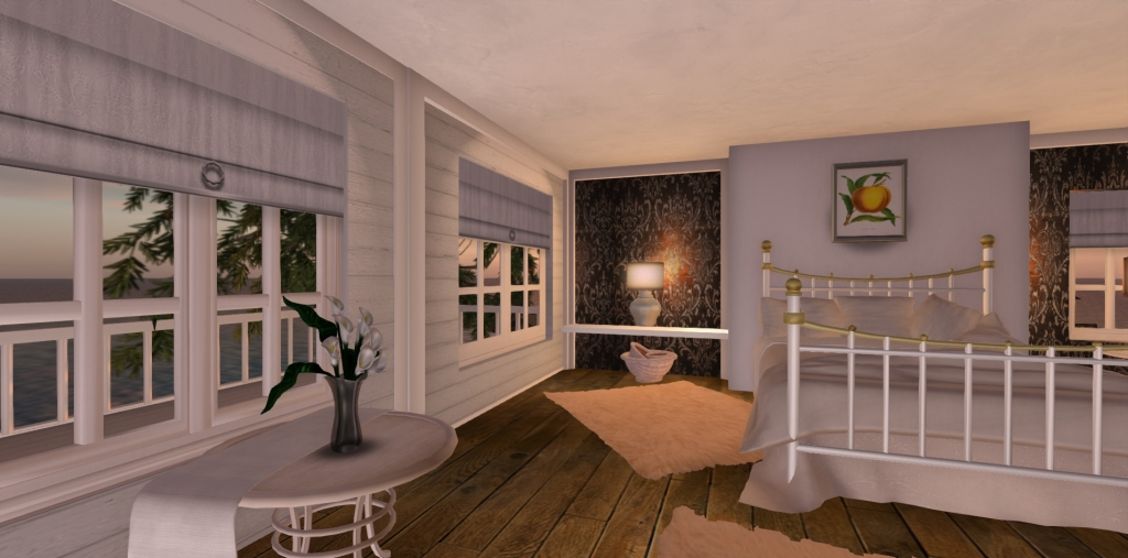 Second Life Cuddle Bed & Prefabs