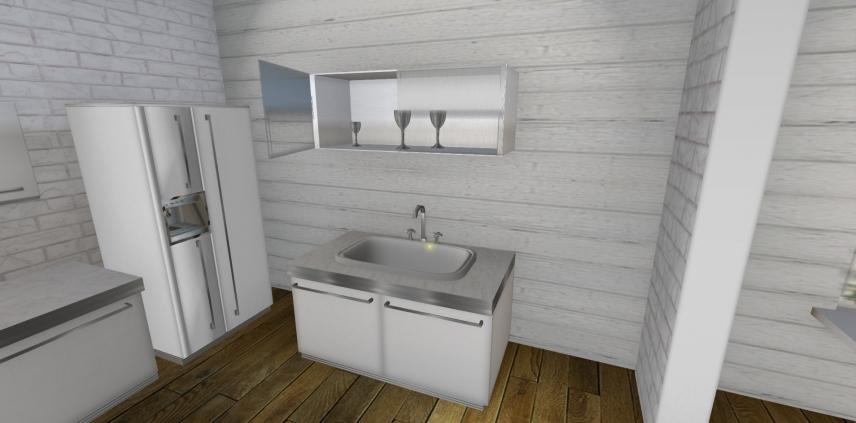 River Cottage Kitchen View