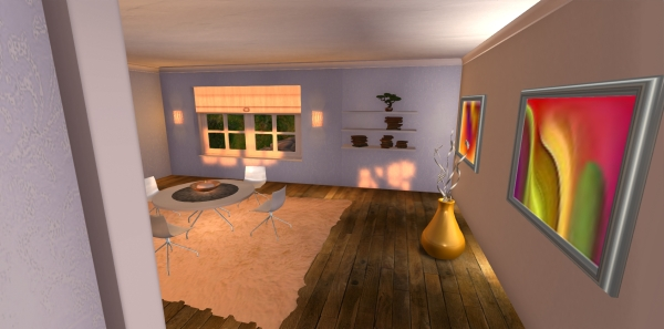 The best pre fab houses second life 'Riverside Cottage'