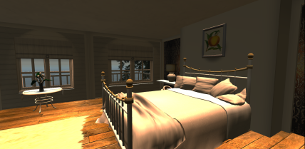 Cottage Bedroom & Windlight Settings