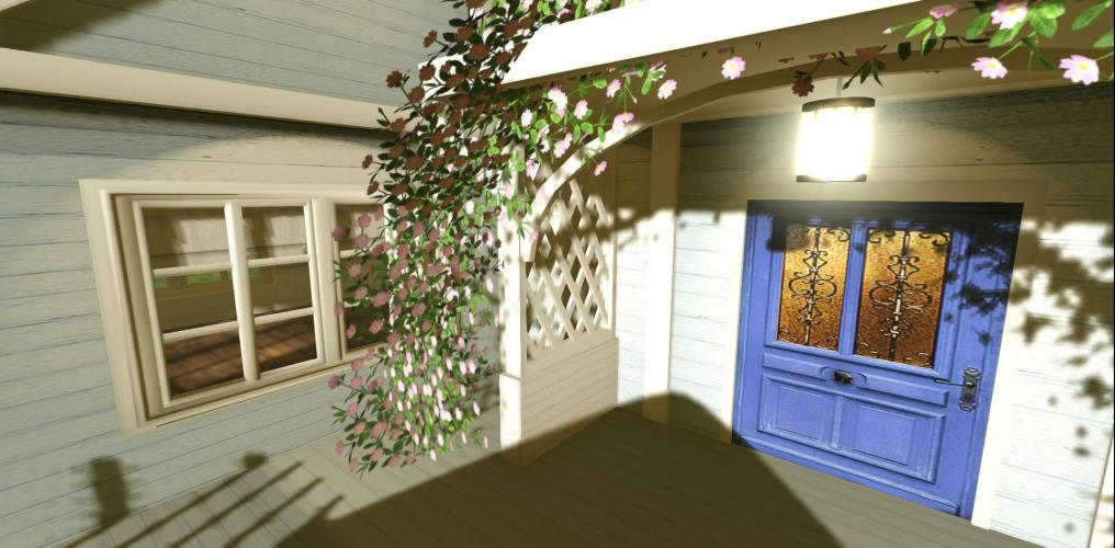 Changes Made To The Front Porch ~ The Flower Arch Is From Heart
