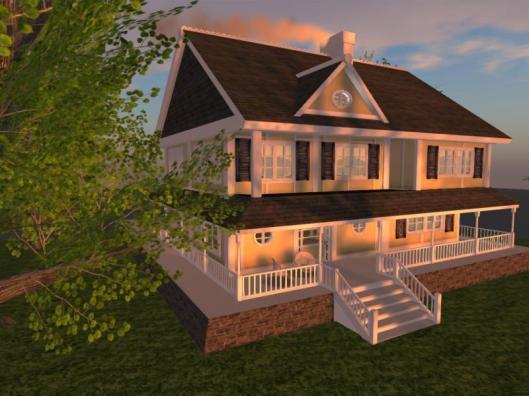 Butterscotch ~ Texture Change Cottage - Second Life
