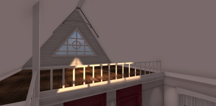 Gorgeous Attic Bedroom Filled With Light