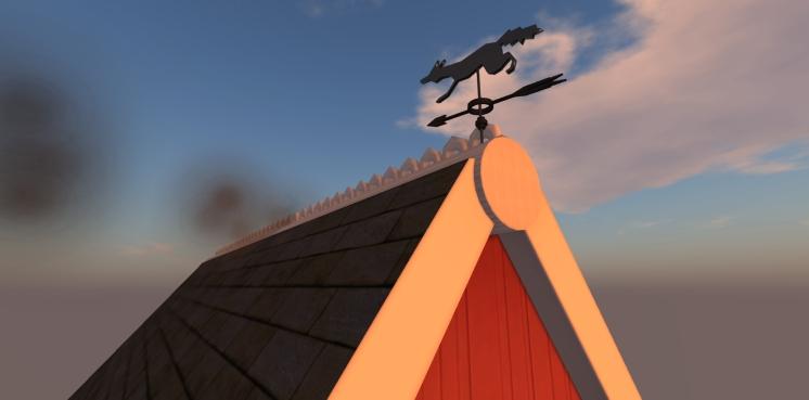 Foxy Wind Vane