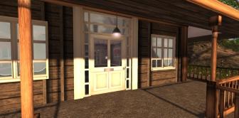 Lockable doors and free lights