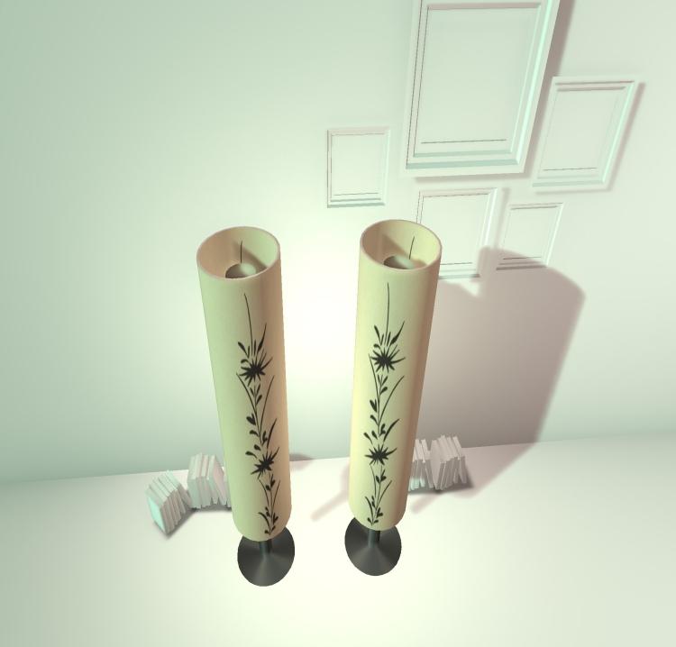 Japanese floorlamp 7a