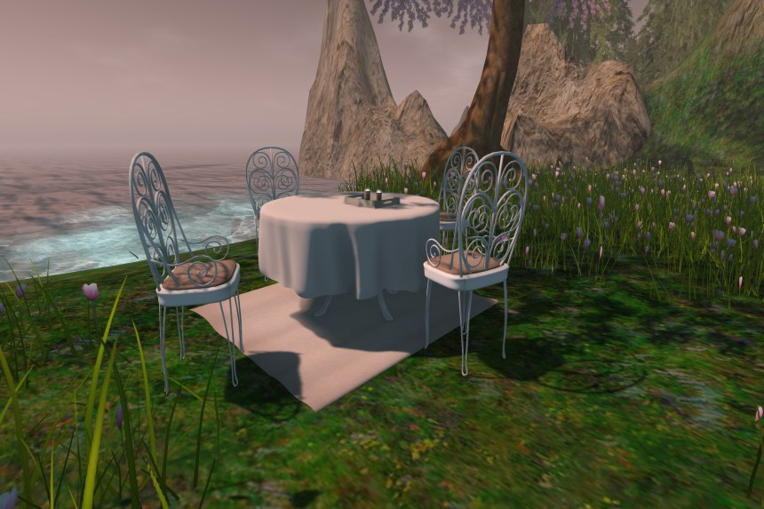 Bistro Chair & Table Set_003