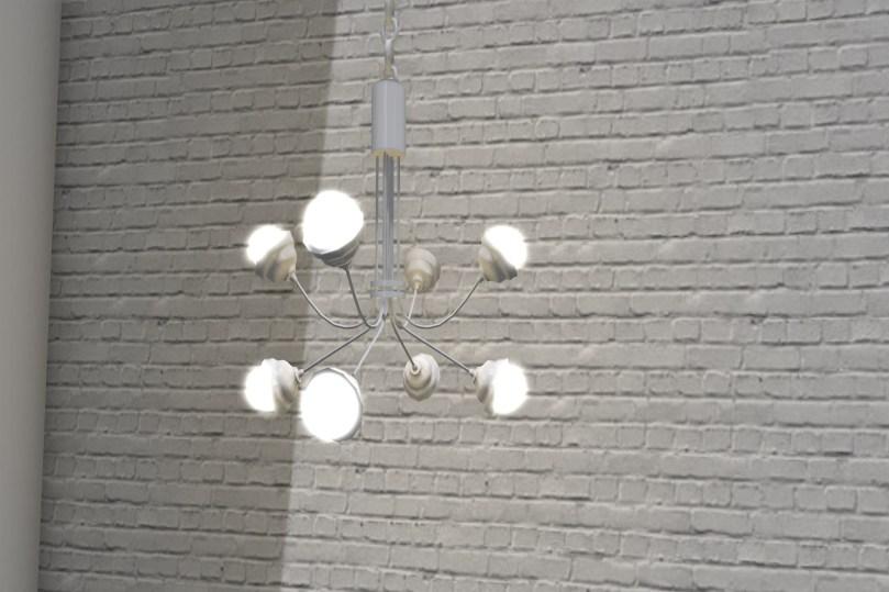 Bulb Chandelier & Chain_003