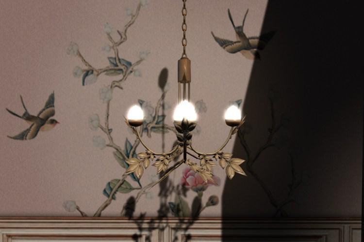 leaf chandelier gold_008