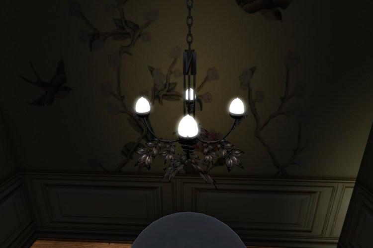 leaf chandelier gold_026