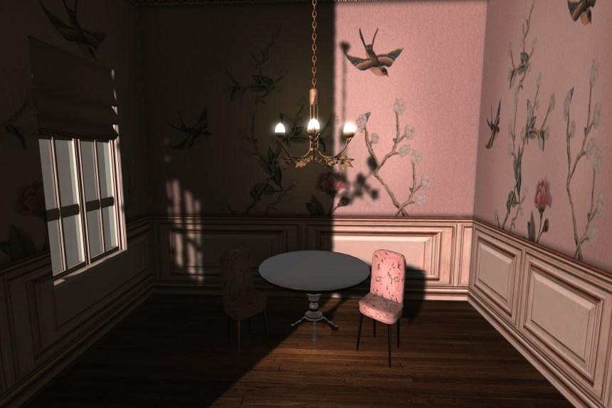 leaf chandelier gold_068