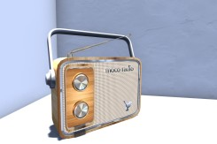 Blog Retro Radio Oak