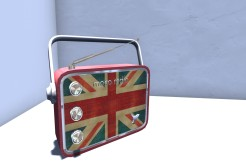 Blog Retro Radio Union Jack