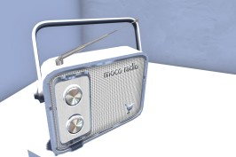 Blog Retro Radio WHITE