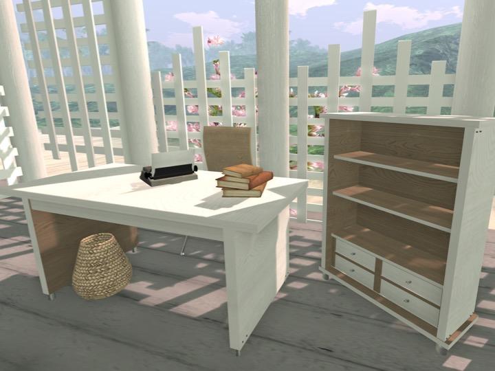 Clam Bay Desk Set 1